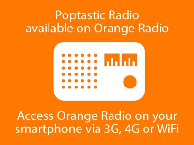 Listen to Poptastic Radio on Orange Radio
