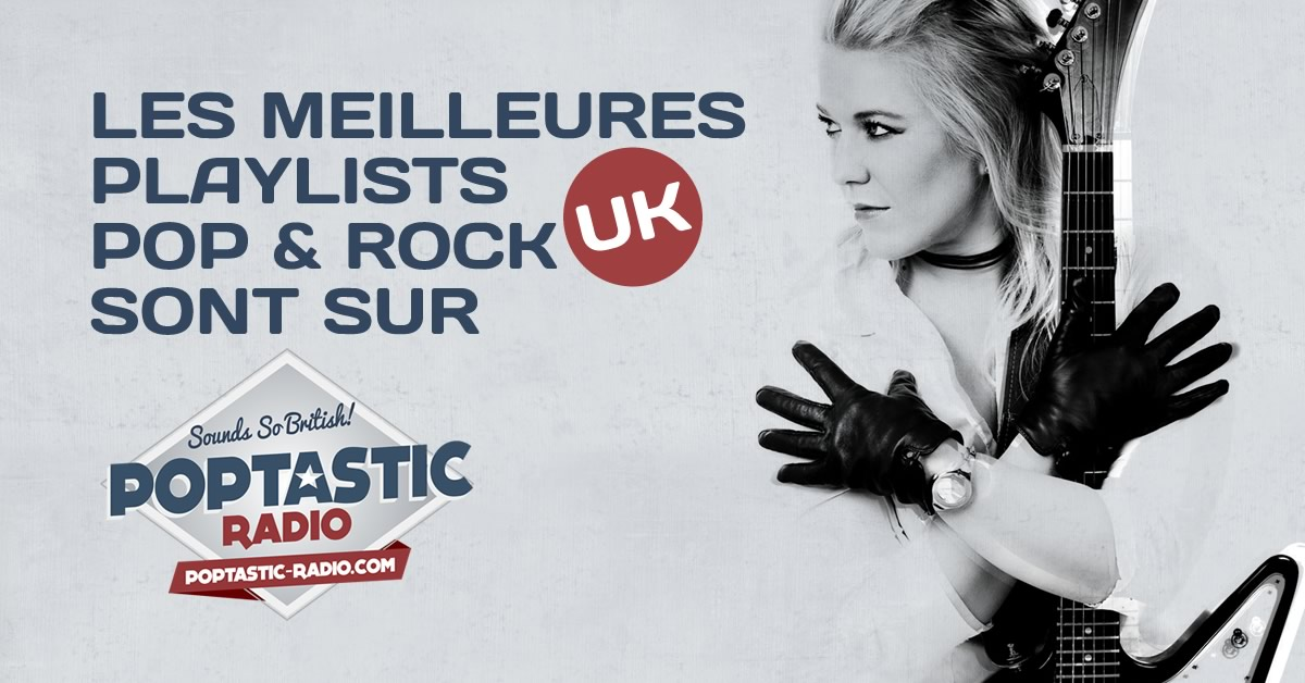Poptastic Radio playlist pop rock anglais