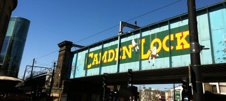 Camden Town - Le marché de Camden Lock