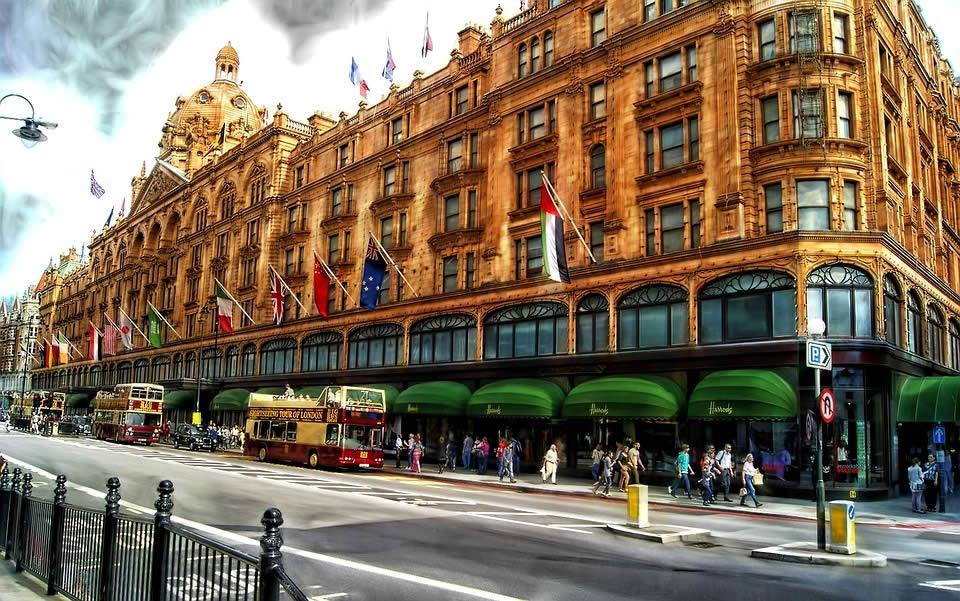 Magasin Harrods à Londres
