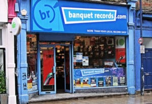 Magasins de disques à Londres - Banquets Records