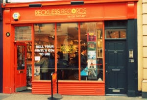 Magasin de disques à Londres - Reckless Records