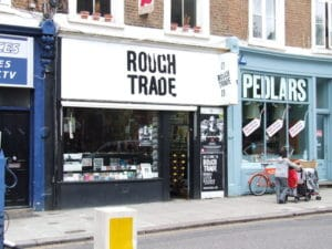 Magasins de disques à Londres - Rough Trade