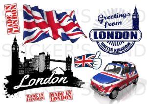 Stickers décoratifs Londres