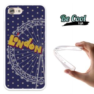 Coque smartphone en silicone London Eye