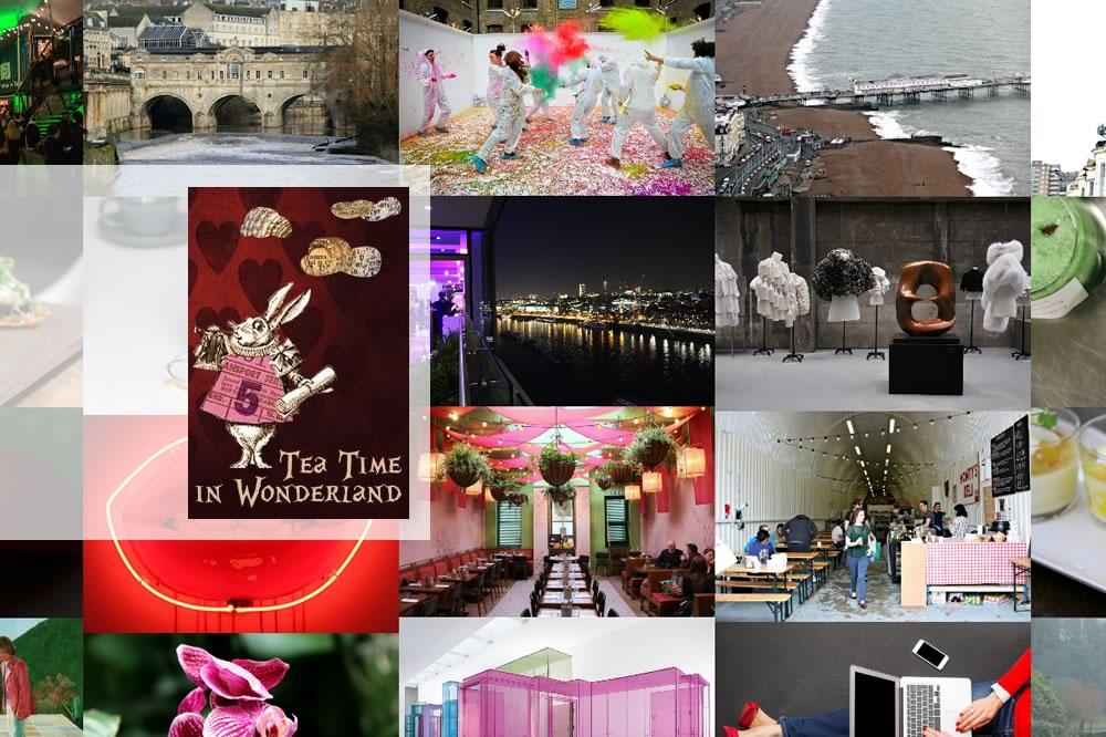 Bons plans à Londres - Tea Time in Wonderland