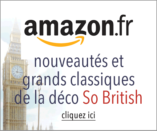 Déco anglaise so british chez Amazon