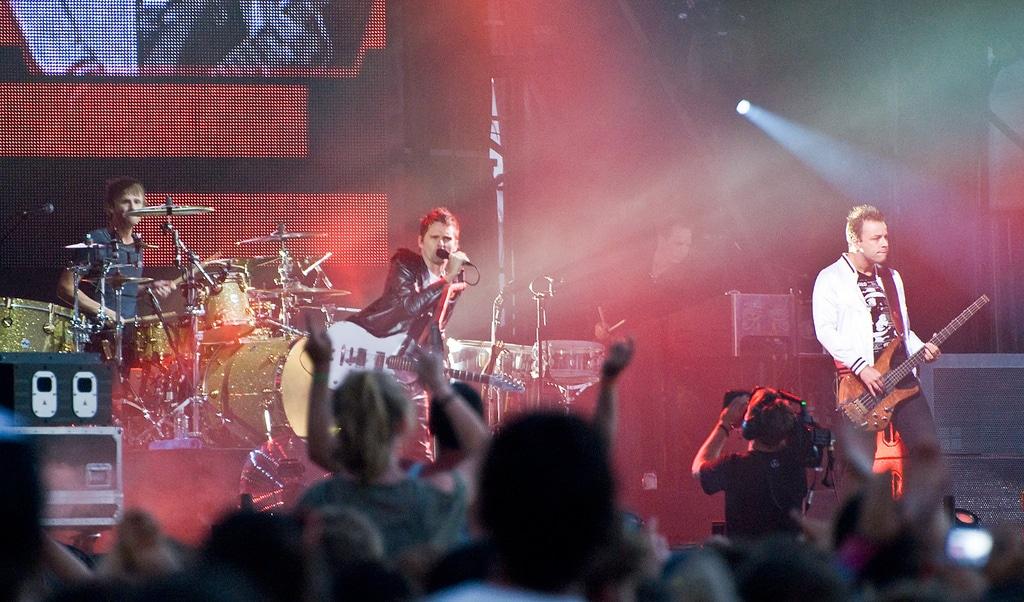 Muse enregistre un nouvel album à Londres