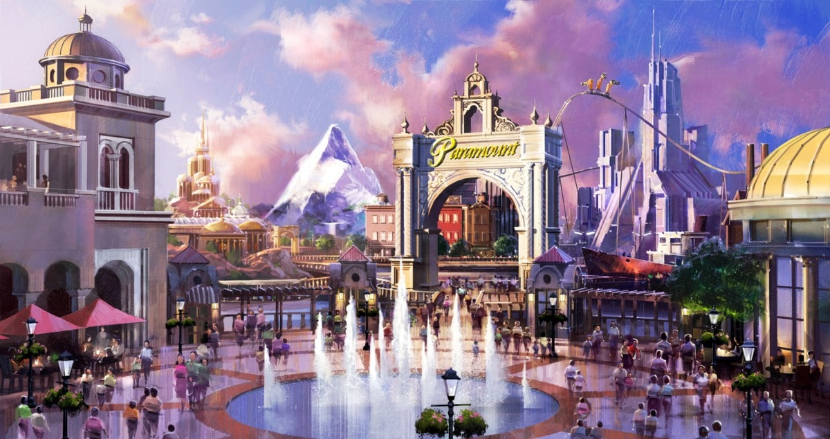 Nouveau par d'attractions Paramount à Londres