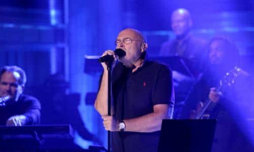 Phil Collins solo show
