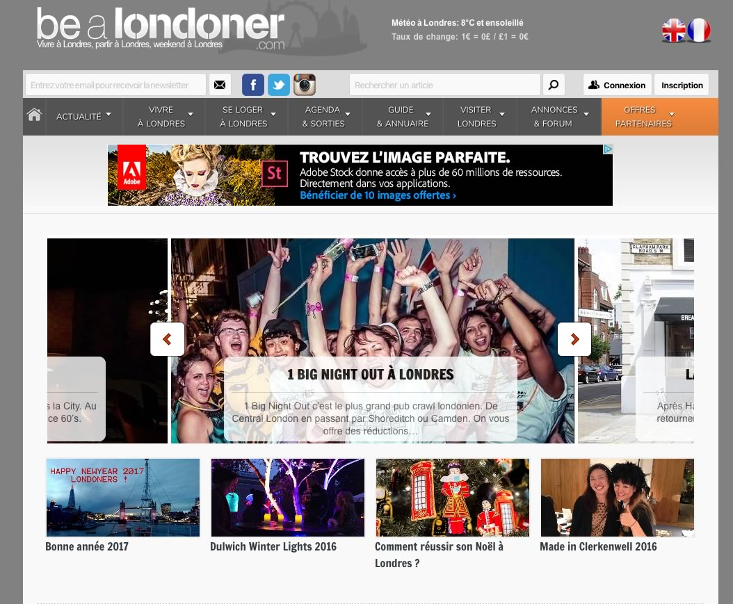 Site Be a Londoner