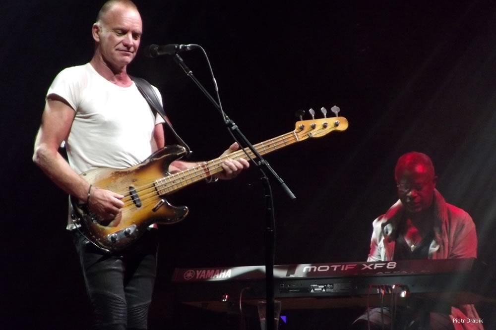 Sting en concert à Londres
