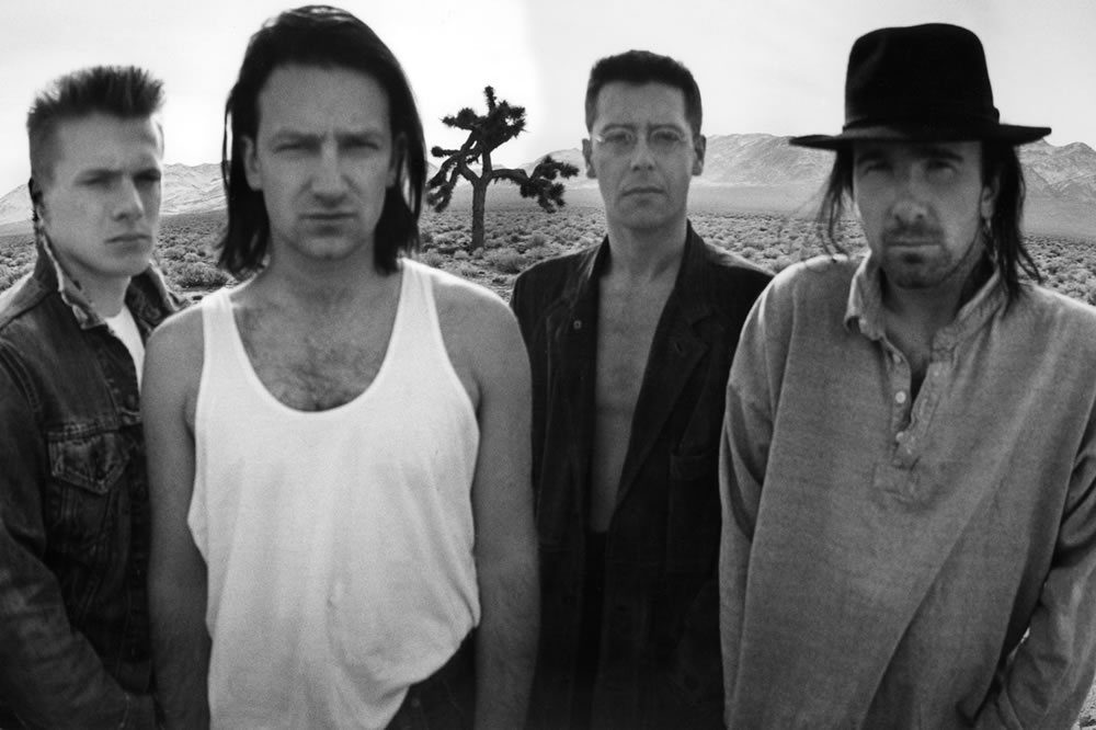 U2 en 1986 photo album The Joshua Tree