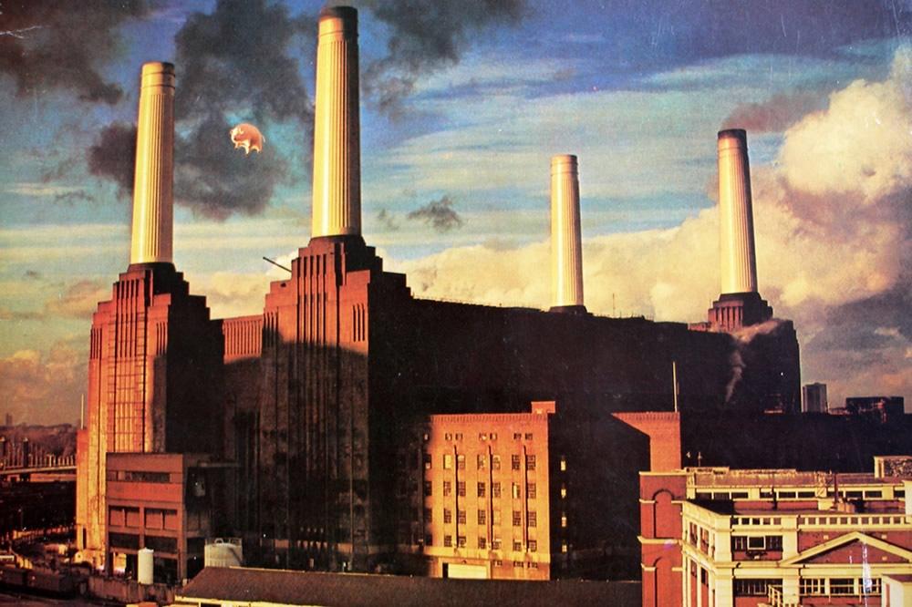 Expo des Pink Floyd à Londres - La centrale électrique Battersea