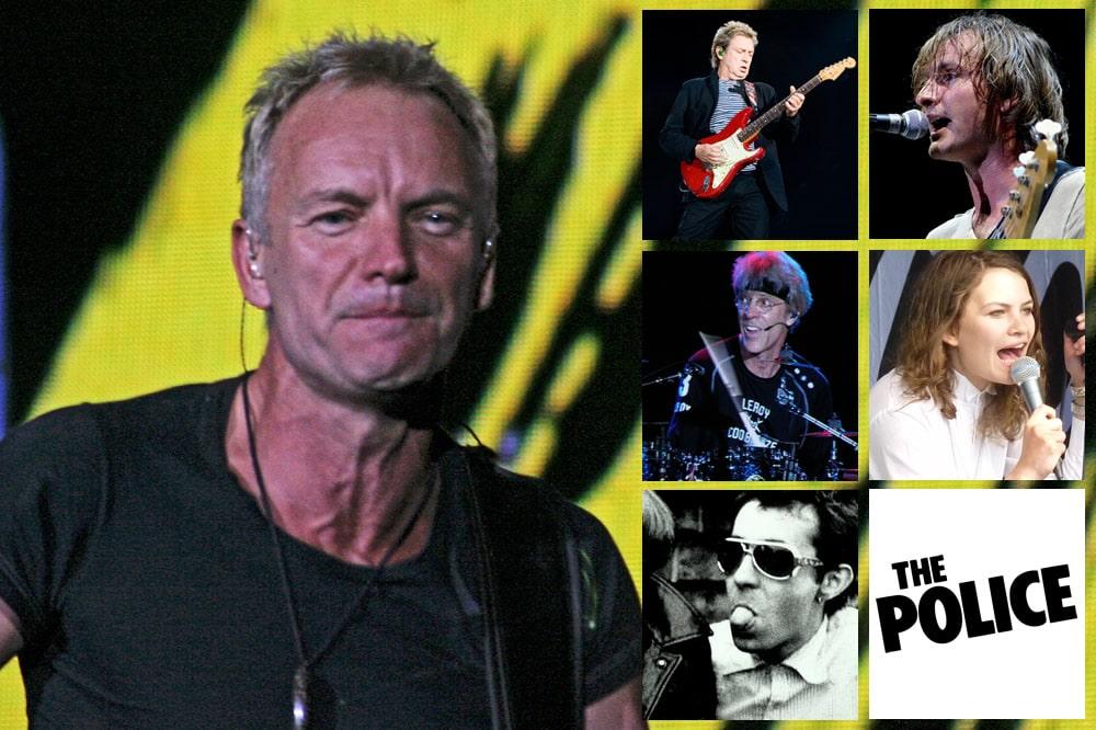 Le groupe Police et Sting sur Poptastic