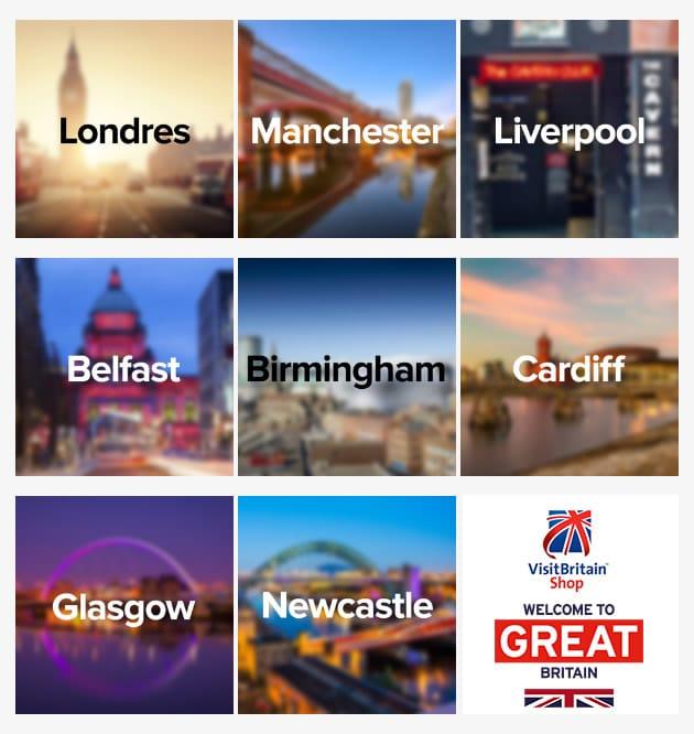 Pop anglaise et tourisme avec Visit Britain
