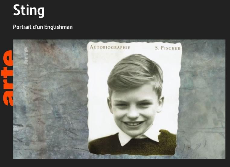 Portrait de Sting sur Arte