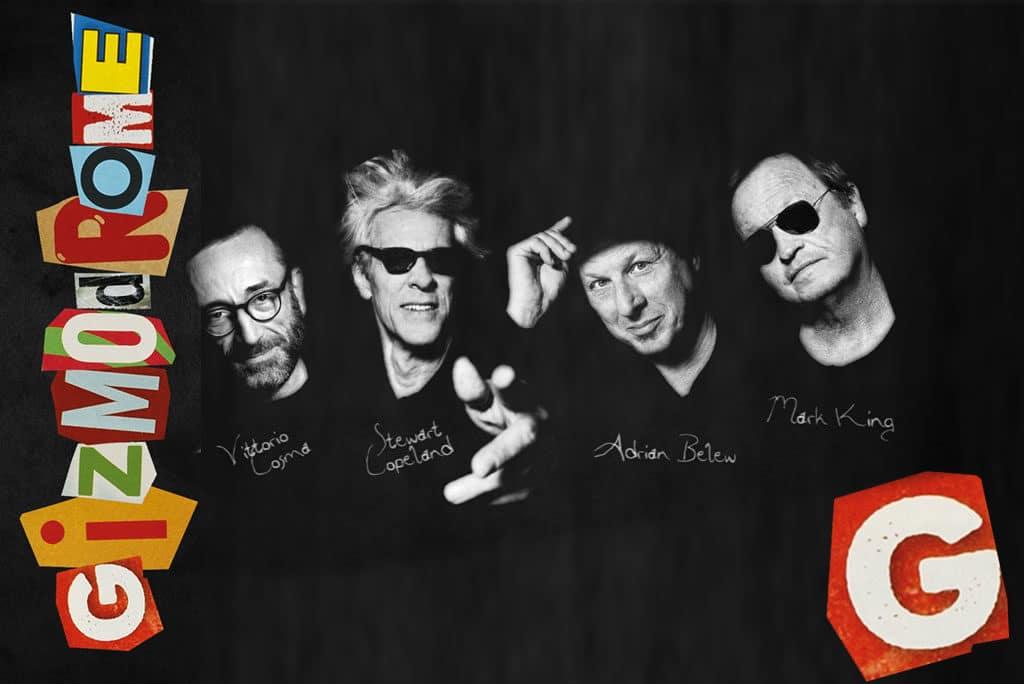 Gizmodrome nouveau groupe avec Stewart Copeland