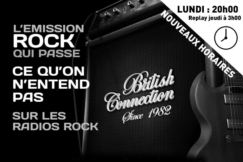 British Connection nouveaux horaires