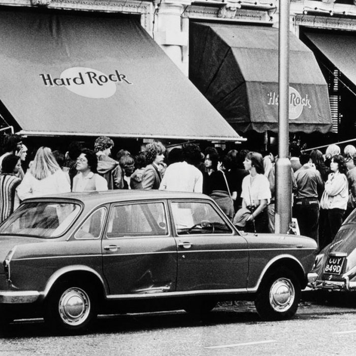 L'histoire du Hard Rock Cafe de Londres