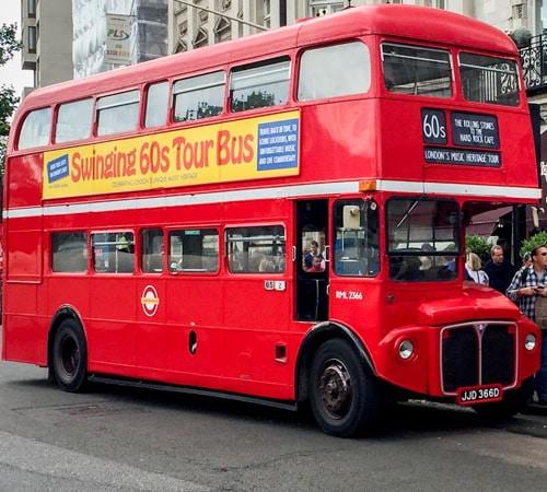 Jeu Sixties Bus London