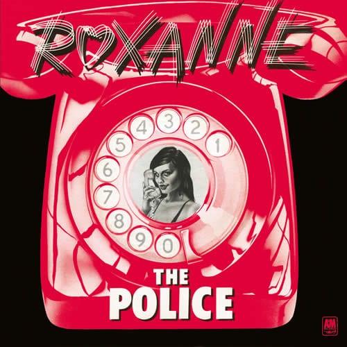 The Police réédition speciale du 45 tours Roxanne