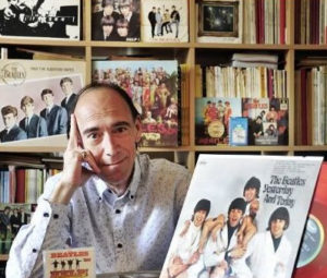 Daniel Lesueur et sa collection de vinyles inedits