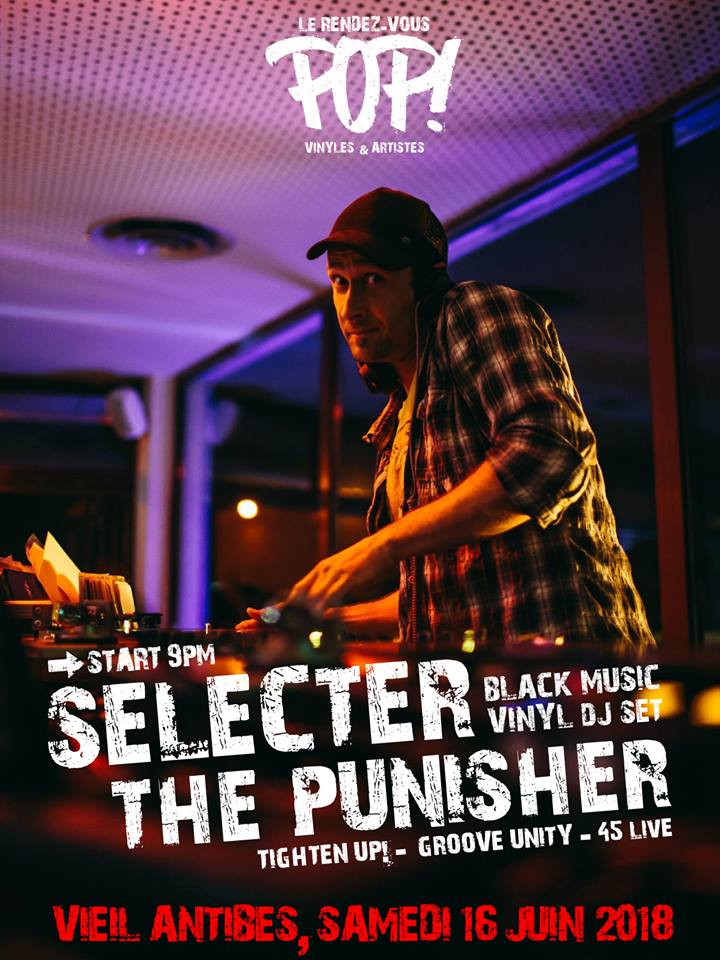 Selecter The Punisher pour le Rendez-vous Pop à Antibes