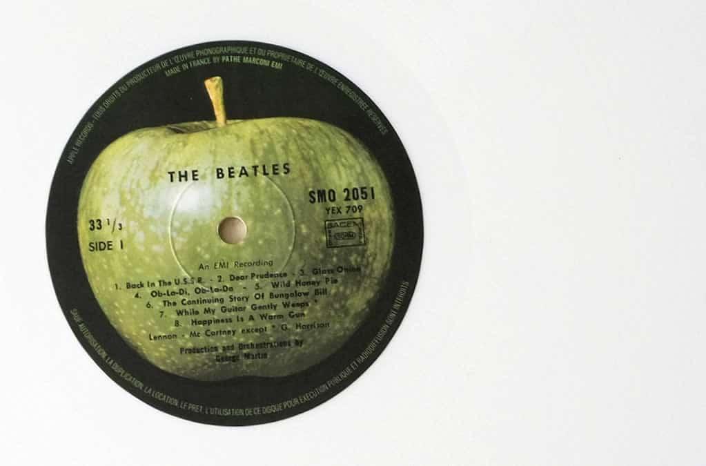 Album blanc Beatles - Maison de Poupée