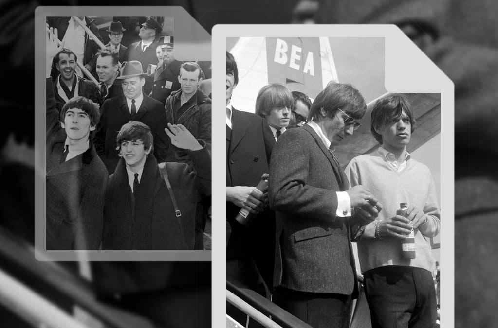 Les Rolling Stones ont ils copié les Beatles