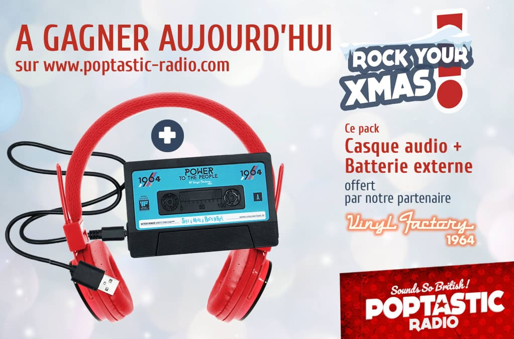 Batterie + Casque Vinyl Factory