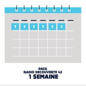 Pack Pub radio découverte 42