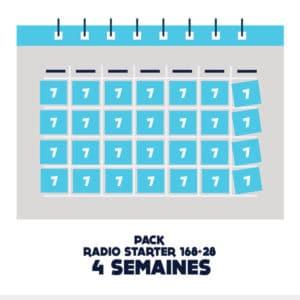 Pub radio starter 168 plus 28