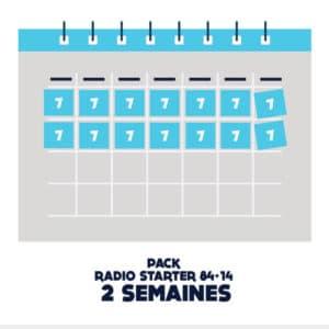 Pub radio starter 84 plus 14