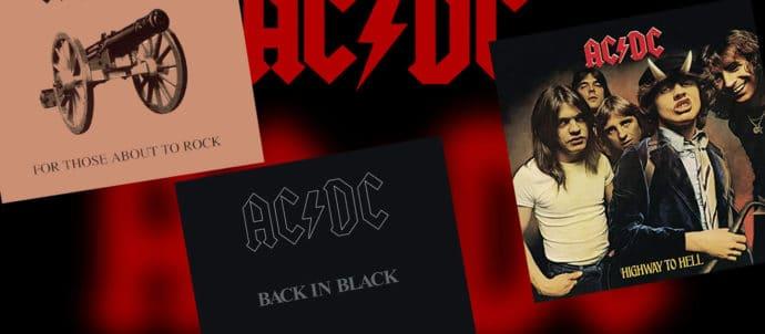 3 albums AC/DC