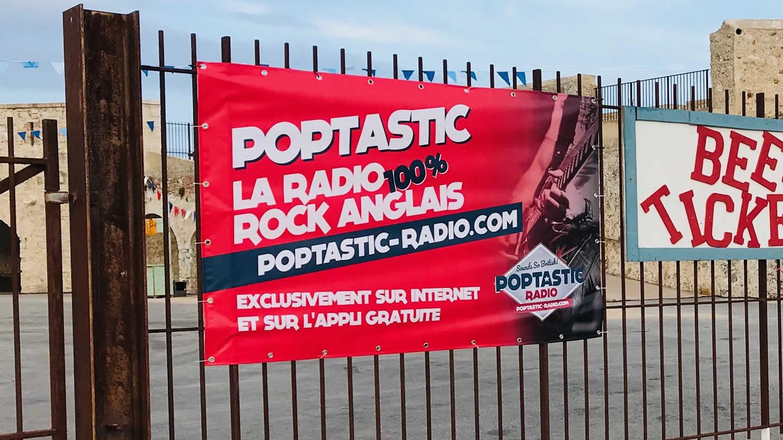 Poptastic parmi les mieux classées sur la plateforme RadioKing