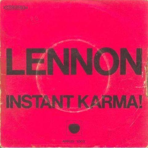 45 tours Instant Karma de John Lennon