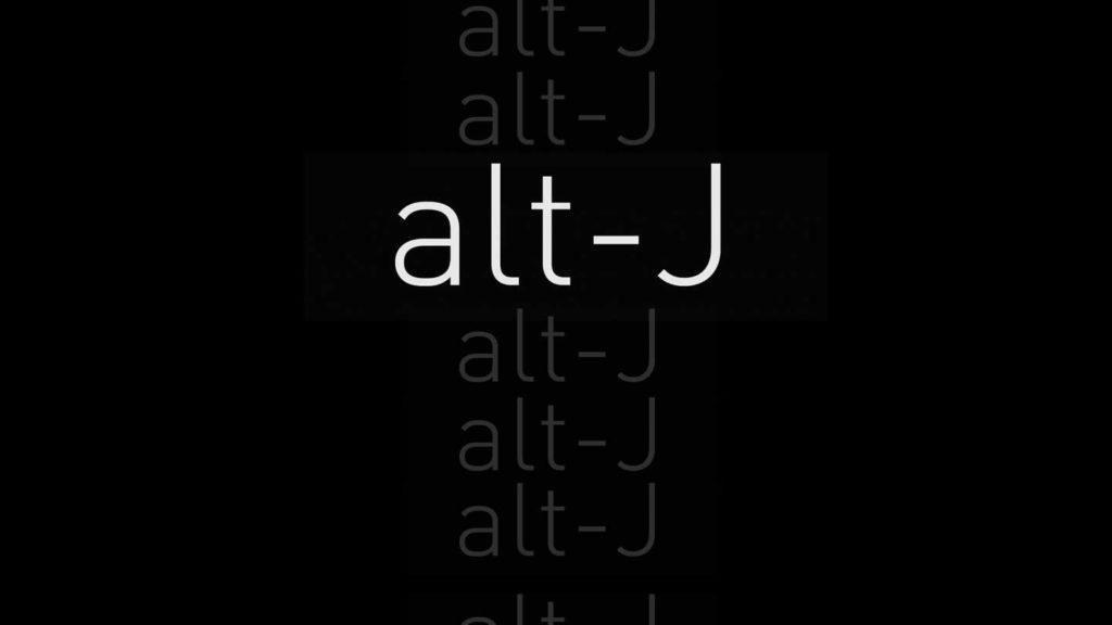 Groupe anglais Alt-J