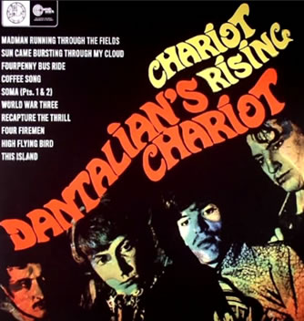 Andy summers pochette Dantalian's Chariot