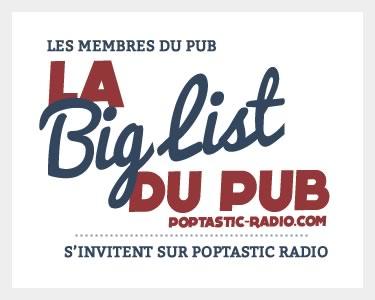 Logo la Big List du Pub