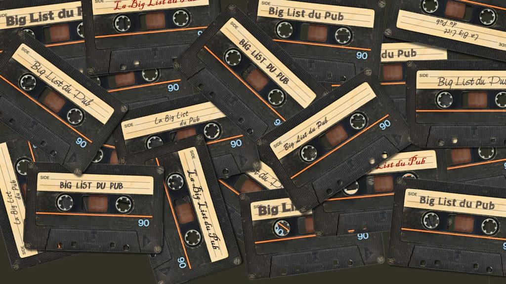 La Big List du Pub