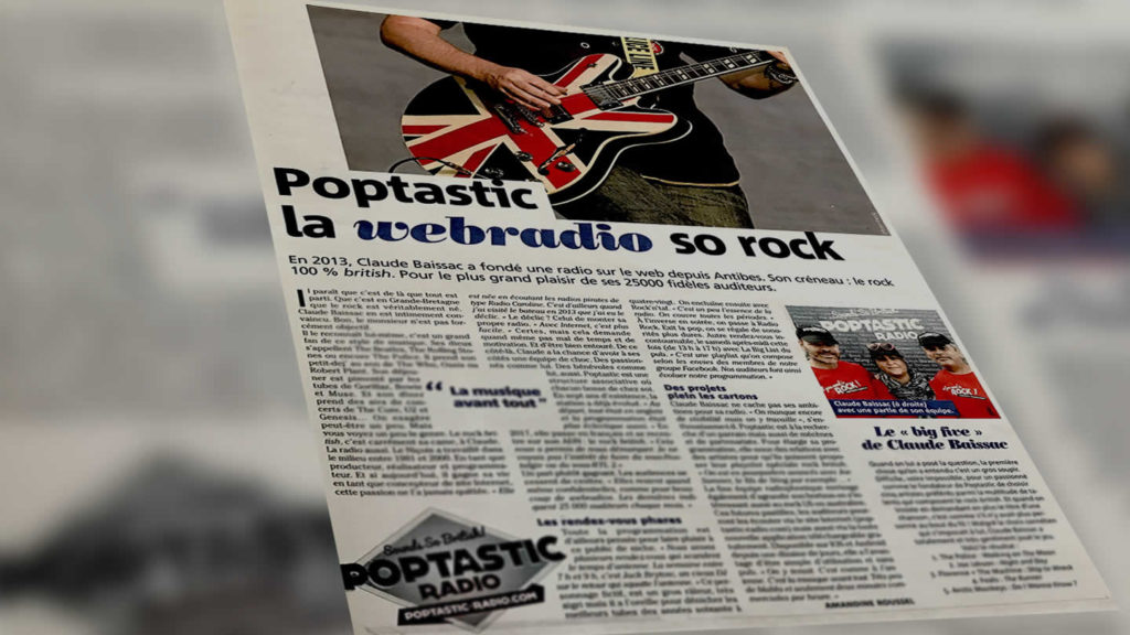 Nice matin poptastic so rock