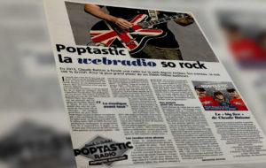 Poptastic la webradio so rock sur Nice Matin et Var Matin