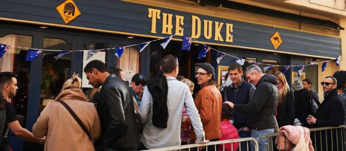 Reouverture du pub The Duke à Antibes