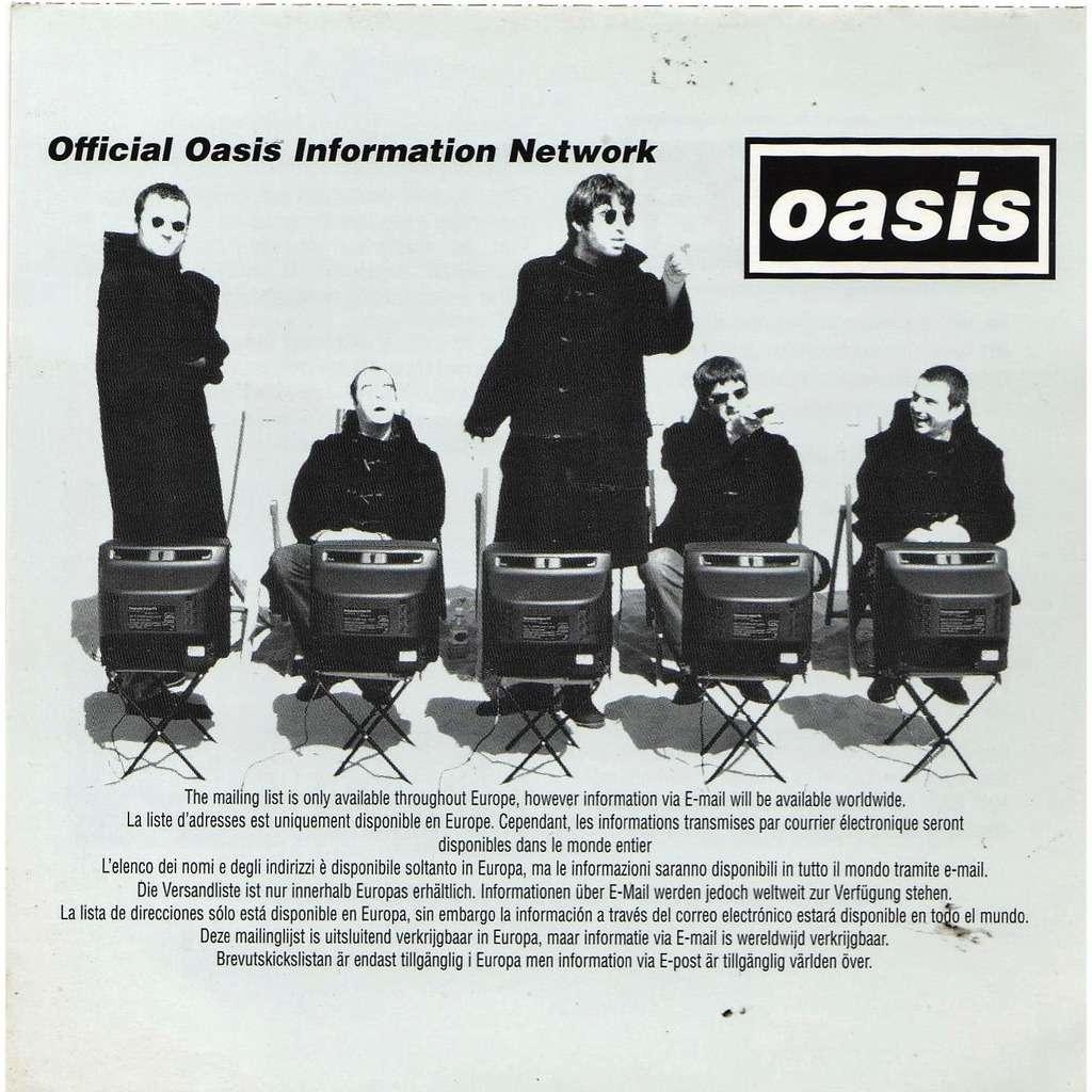 Oasis raretés